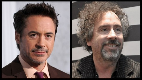 Tim Burton quiere a Robert Downey Jr. como Gepetto