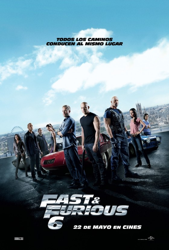 Poster final FAST & FURIOUS 6