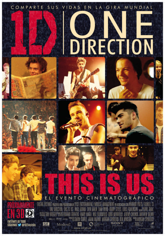 Cartel One Direction 3D This is us