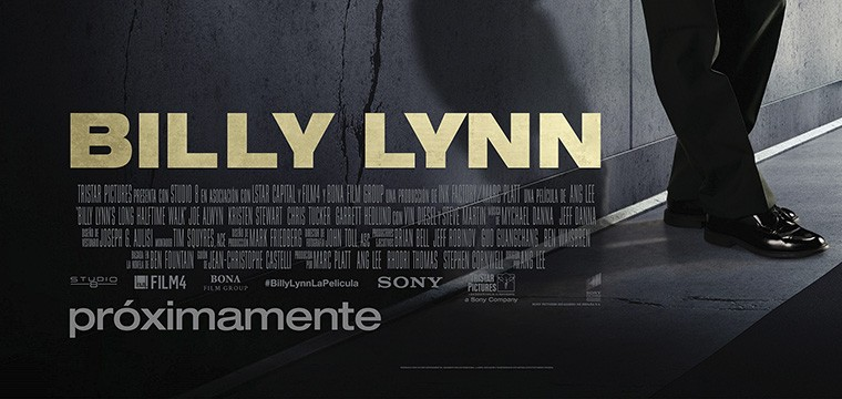 Póster Billy Lynn