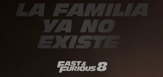 Teaser Póster de Fast and Furious 8