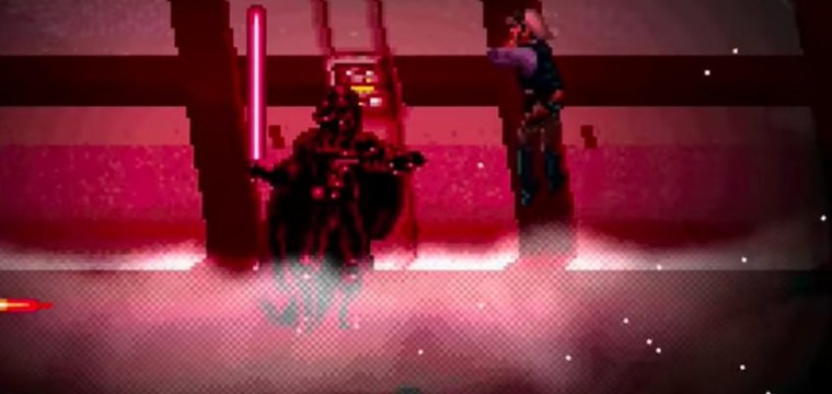 La ÉPICA escena de Darth Vader en Rogue One en 16-Bits