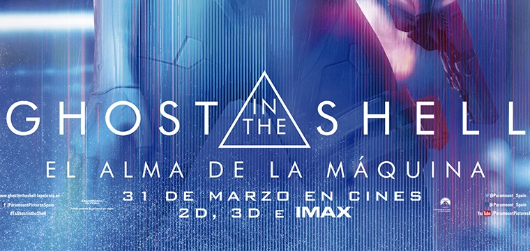 Póster final Ghost in the Shell