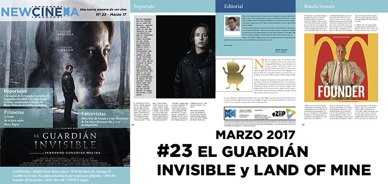 NC magacine Nº 23 Marzo; El guardián invisible , Bajo la arena land of mine