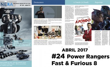 NC Magacine Nº24 Abril 2017: Power Rangers – Fast & Furious 8