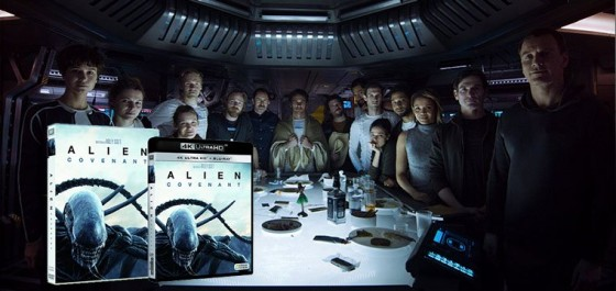 El regreso de Ridley Scott con Alien Covenant en DVD y BD