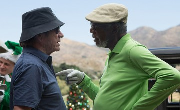 Morgan Freeman y Tommy Lee Jones protagonizan Just Getting Started