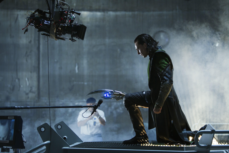 Los Vengadores, detrás de las cámaras (7)