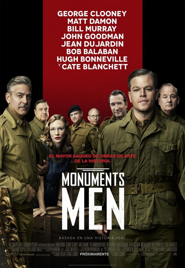 Monuments Men_Póster