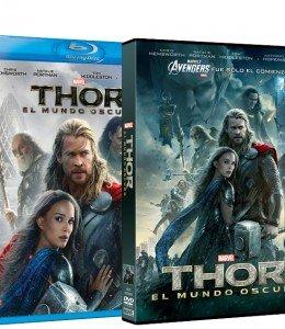 Thor El Mundo Oscuro-DVD BR