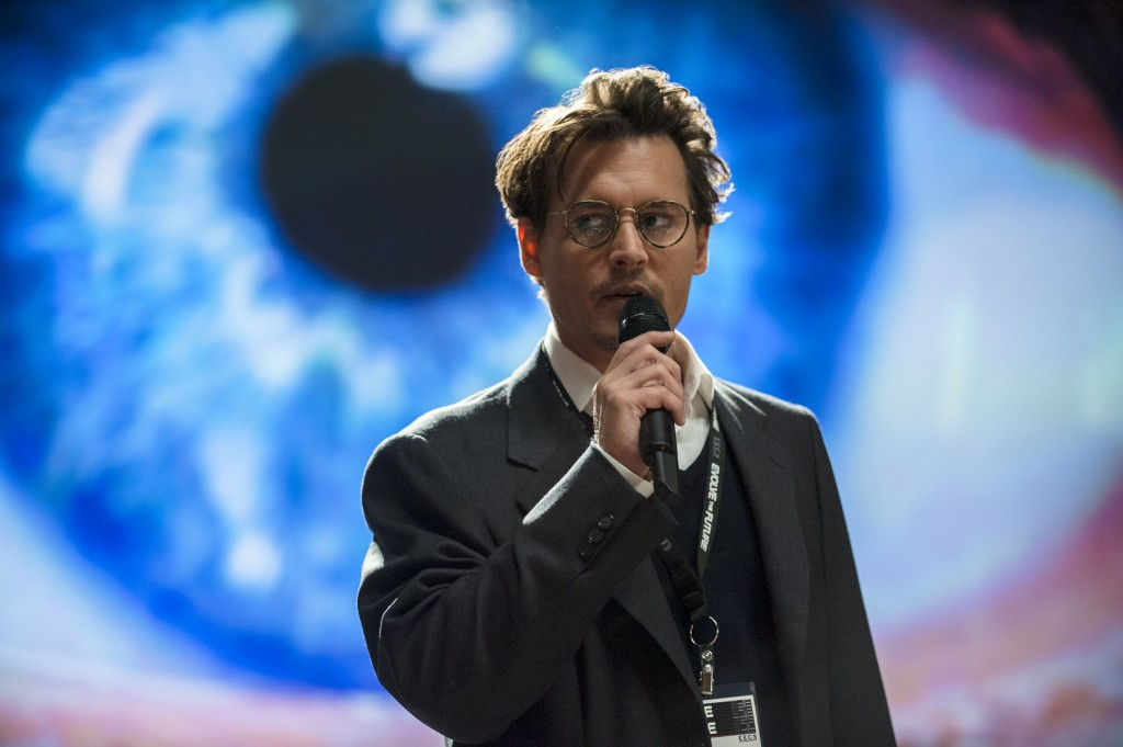 Johnny Depp en Transcendence