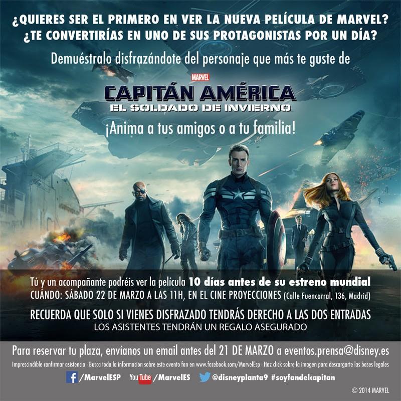 evento Fan_capitán américa 2_madrid
