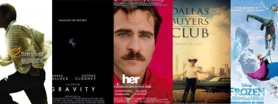 Ganadores de la 86ª edición de los Oscar. Crónica