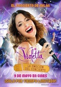 Violetta la emoción del concierto_cartel
