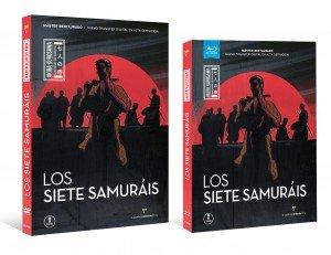 los siete samurais_restaurado dvd BR_venta