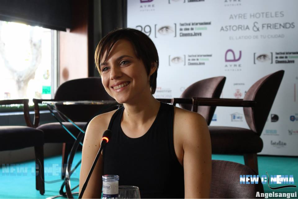 Aura Garrido-Entrevista_Cinema Jove (2)