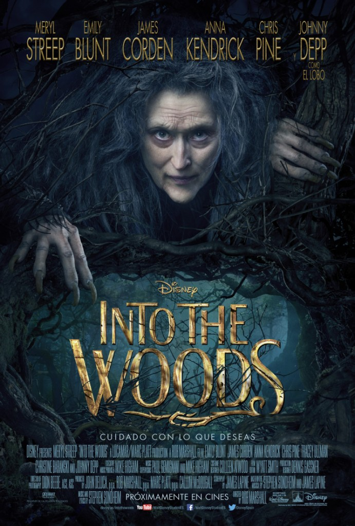 Into the woods-póster