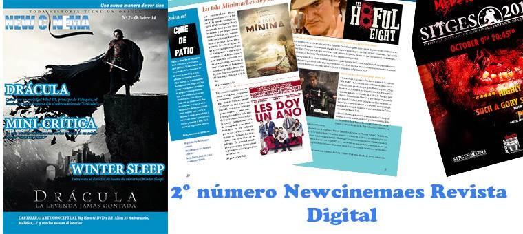 NewCinemaes nº 2 Octubre, Revista Digital