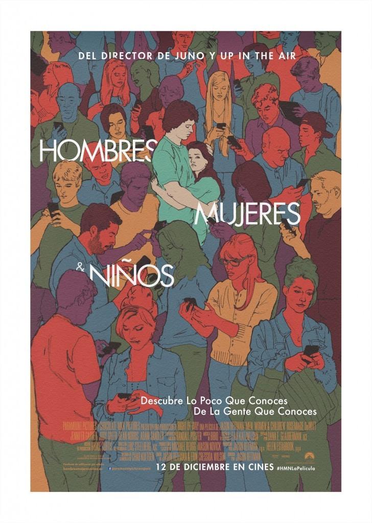 Hombres, Mujeres & Niños-Poster