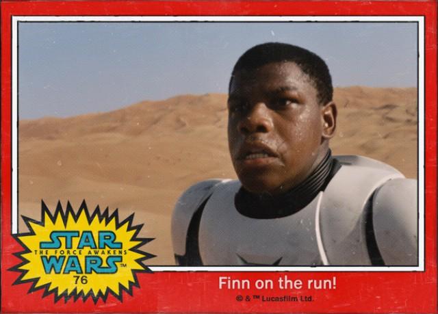 Finn-Cromo Star Wars 7