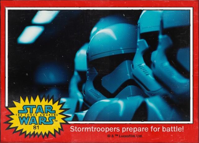 Stormtroopers-Cromo Star Wars 7