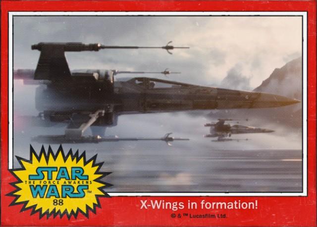 X-Wings-Cromo Star Wars 7