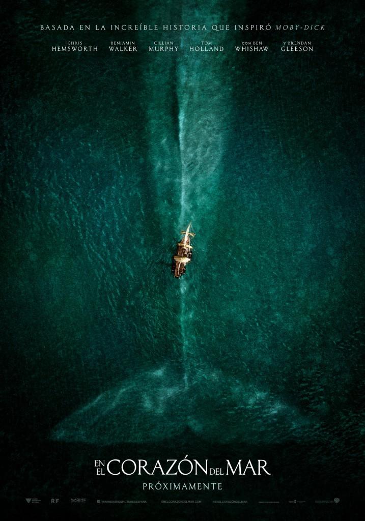 En el corazón del mar-poster teaser