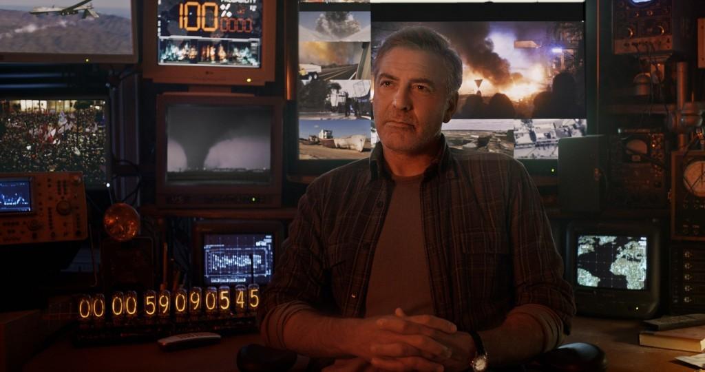 Disney's TOMORROWLANDFrank (George Clooney)Ph: Film Frame©Disney 2015