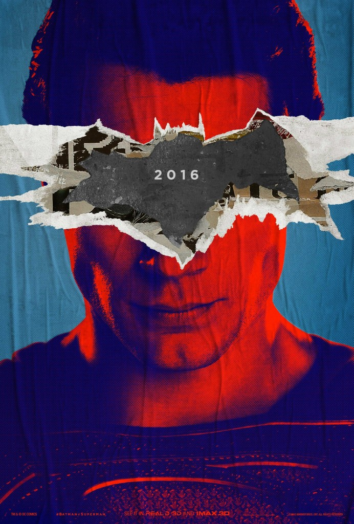 Poster teaser_Batman V Superman (2)
