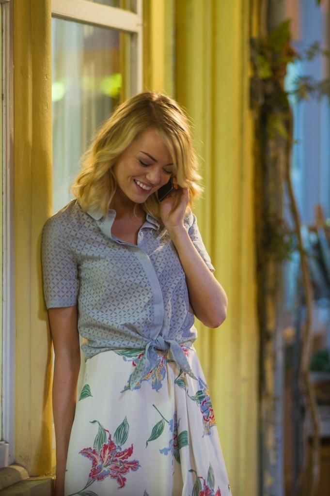 "Emma Stone stars in Columbia Pictuers' ""Aloha,"" also starring Bradley Cooper and Rachel McAdams."