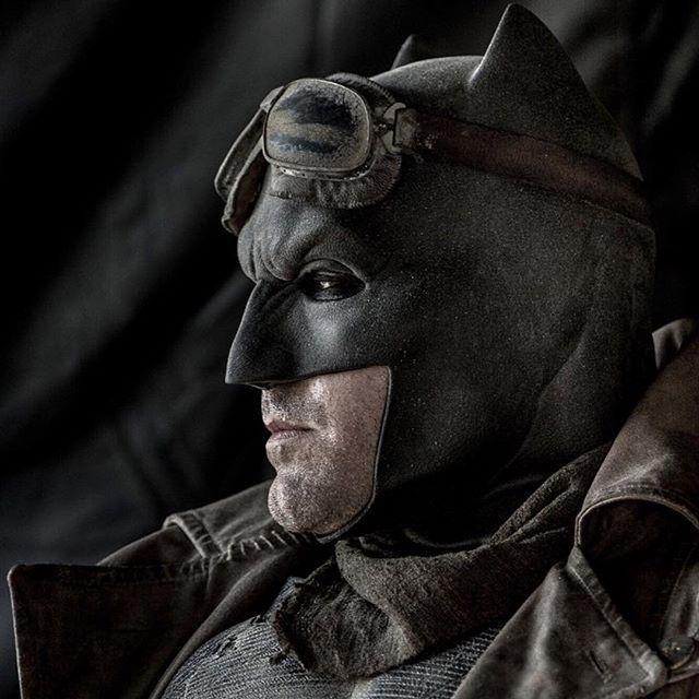 Batman-Affleck por Clay Emos