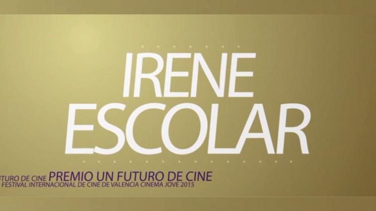 Entrevista a la actriz Irene Escolar Premio un Futuro de Cine
