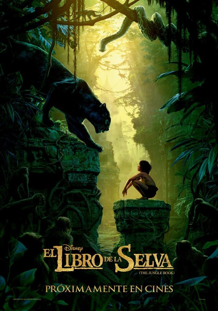 Le Libro de la Selva-teaser cartel