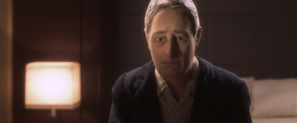 David Thewlis voices Michael Stone in the animated stop-motion film, ANOMALISA