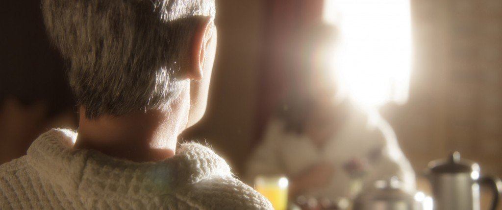 David Thewlis voices Michael Stone and Jennifer Jason Leigh voices Lisa in the animated stop-motion film, ANOMALISA