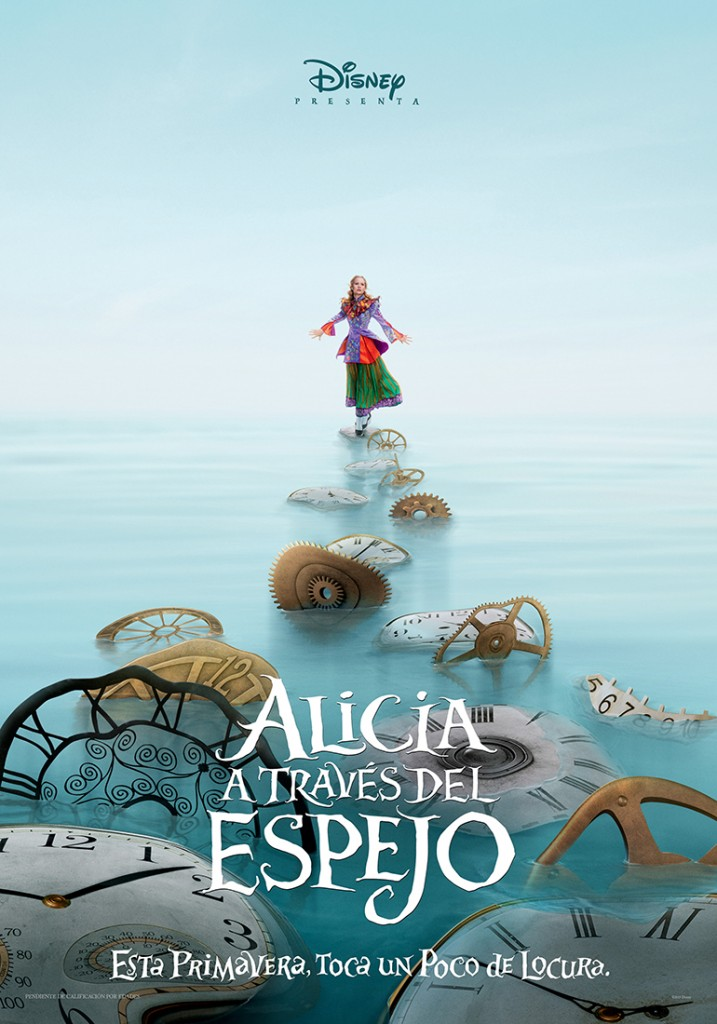 Alicia a traves del espejo-cartel teaser-alicia