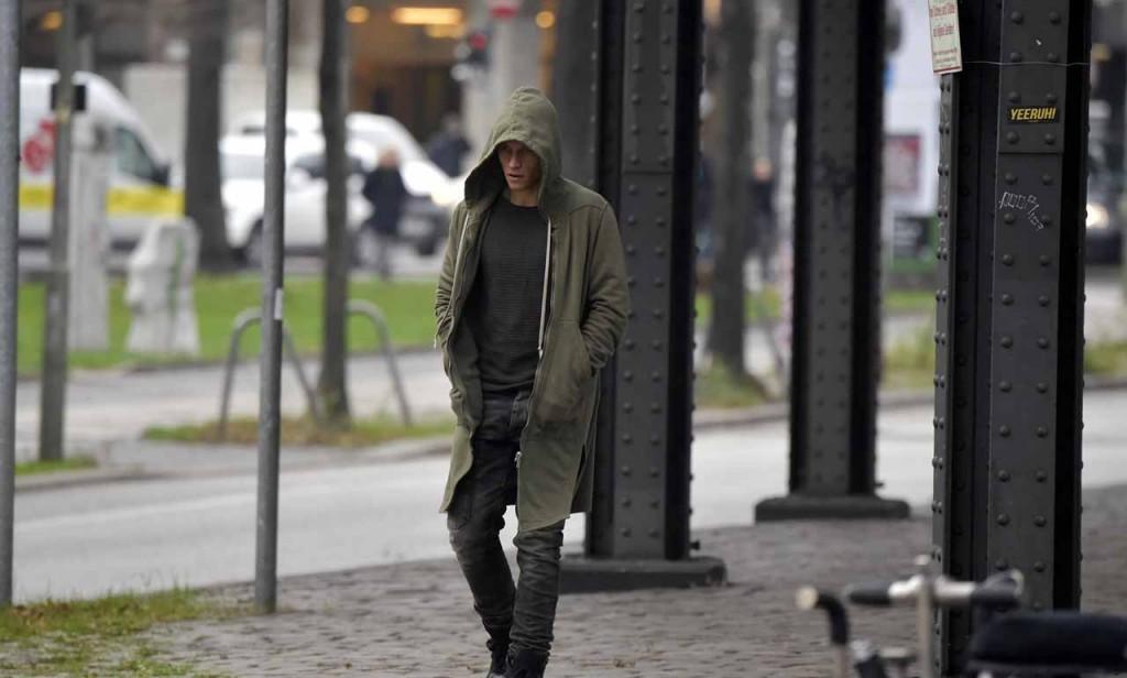 Matt Damon filming the 5th installment of the Bourne series with German action actor Vinzenz Kiefer in Kreuzberg which doubles for Prenzlauer Berg. Featuring: Vinzenz Kiefer Where: Berlin, Germany When: 25 Nov 2015 Credit: WENN.com