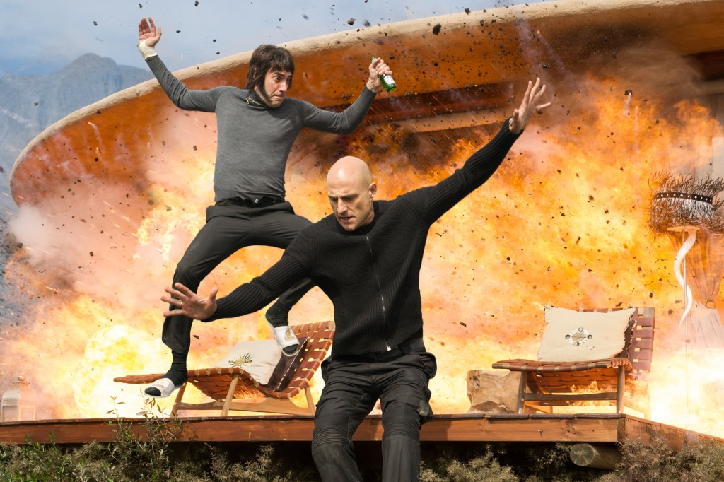 Sacha Baron Cohen and Mark Strong star in Columbia Pictures' THE BROTHERS GRIMSBY.