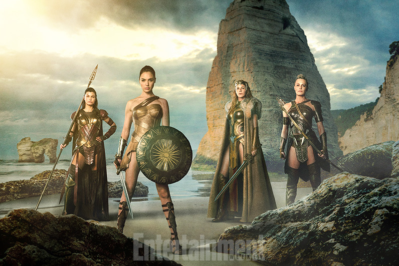 Primer vistazo-Wonder Woman-Amazonas