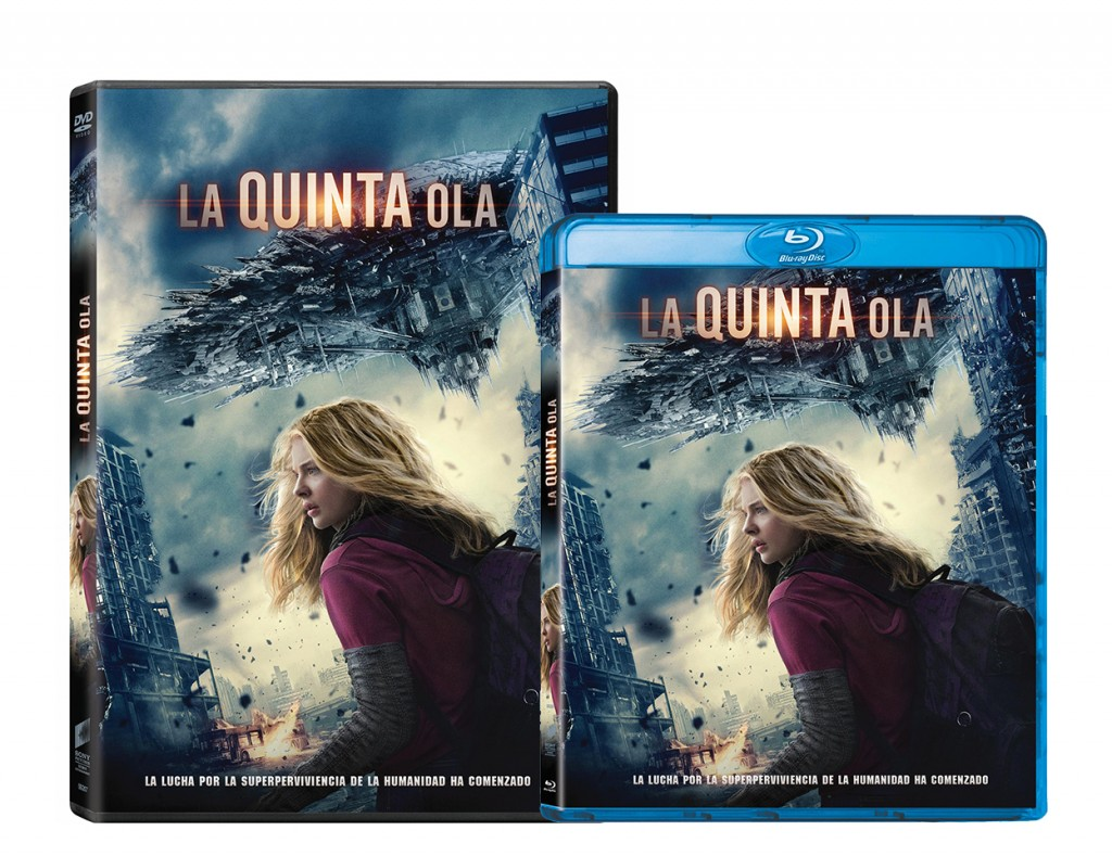 dvd-bd-la quinta ola-5th-wave