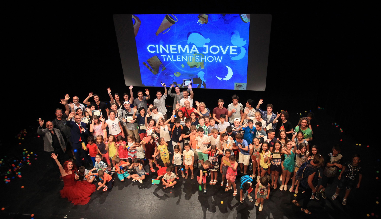 Foto familia ENCUENTRO AUDIOVISUAL DE JÓVENES 31º Edición Cinema Jove