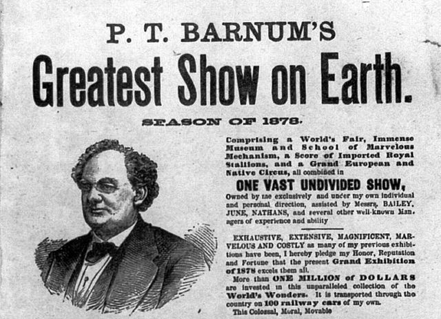P.T. Barnum-greatest-show-on-earth