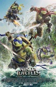 Tortugas Ninja-fuera de las sombras-cartelera
