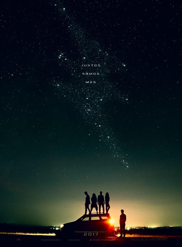 Cartel teaser de Power Rangers