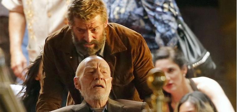 Imágenes del set de rodaje de Wolverine 3 con Hugh Jackman y Patrick Stewart