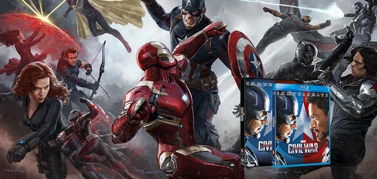 Civil War se estrenará en DVD y BD en Septiembre