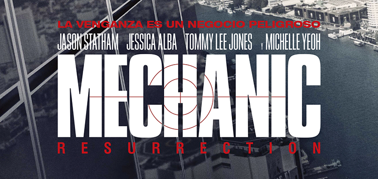 Póster MECHANIC: RESURRECTION