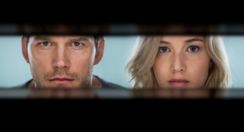 Chris Pratt y Jennifer Lawrence protagonizan PASSENGERS.