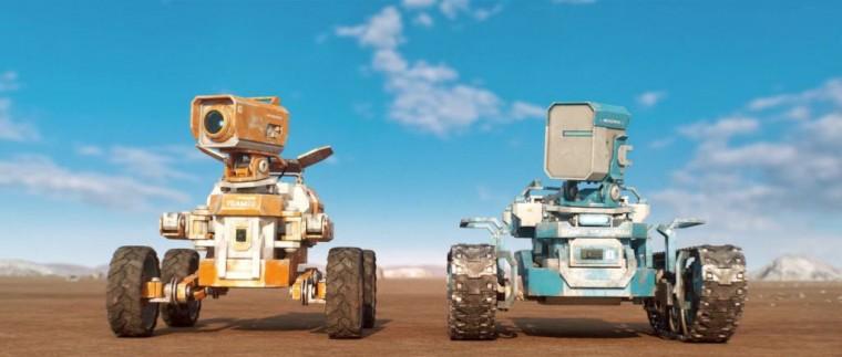 Planet Unknow un corto de ciencia ficción con robots como protagonistas