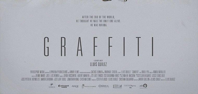 Póster Graffiti (mediometraje)